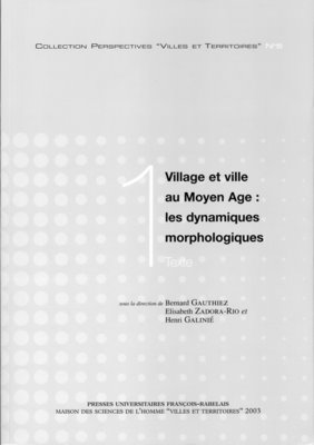 Village et ville au Moyen Âge : les dynamiques morphologiques
