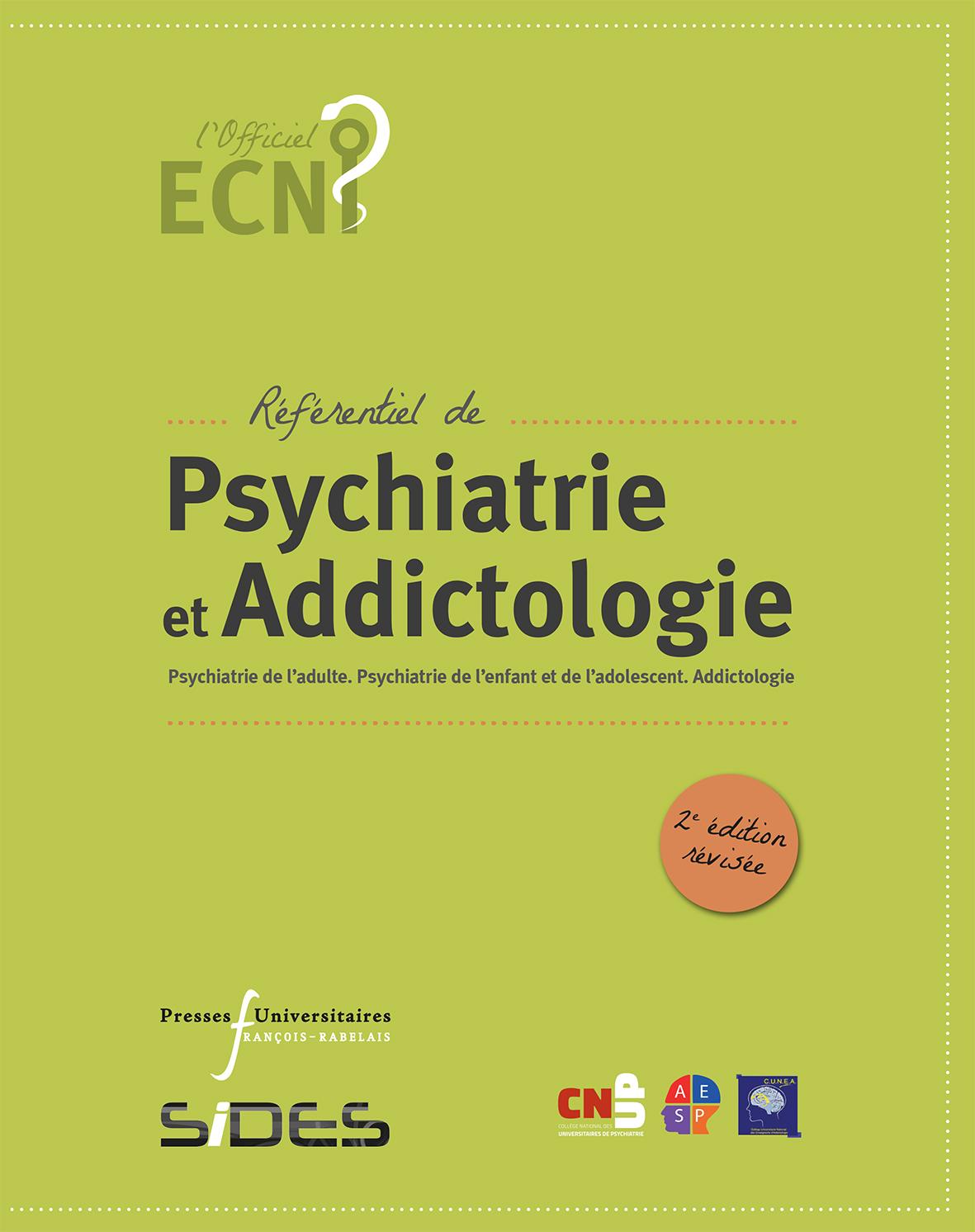 Référentiel de Psychiatrie et d'Addictologie