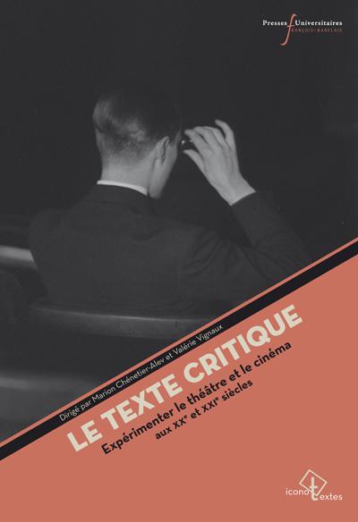 Le texte critique