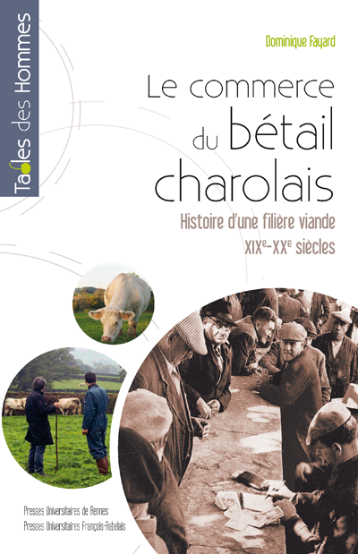 Le commerce du bétail charolais