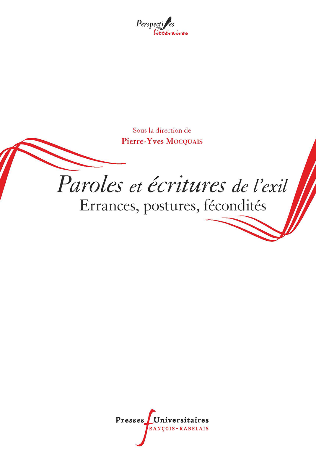 Paroles et écritures de l'exil