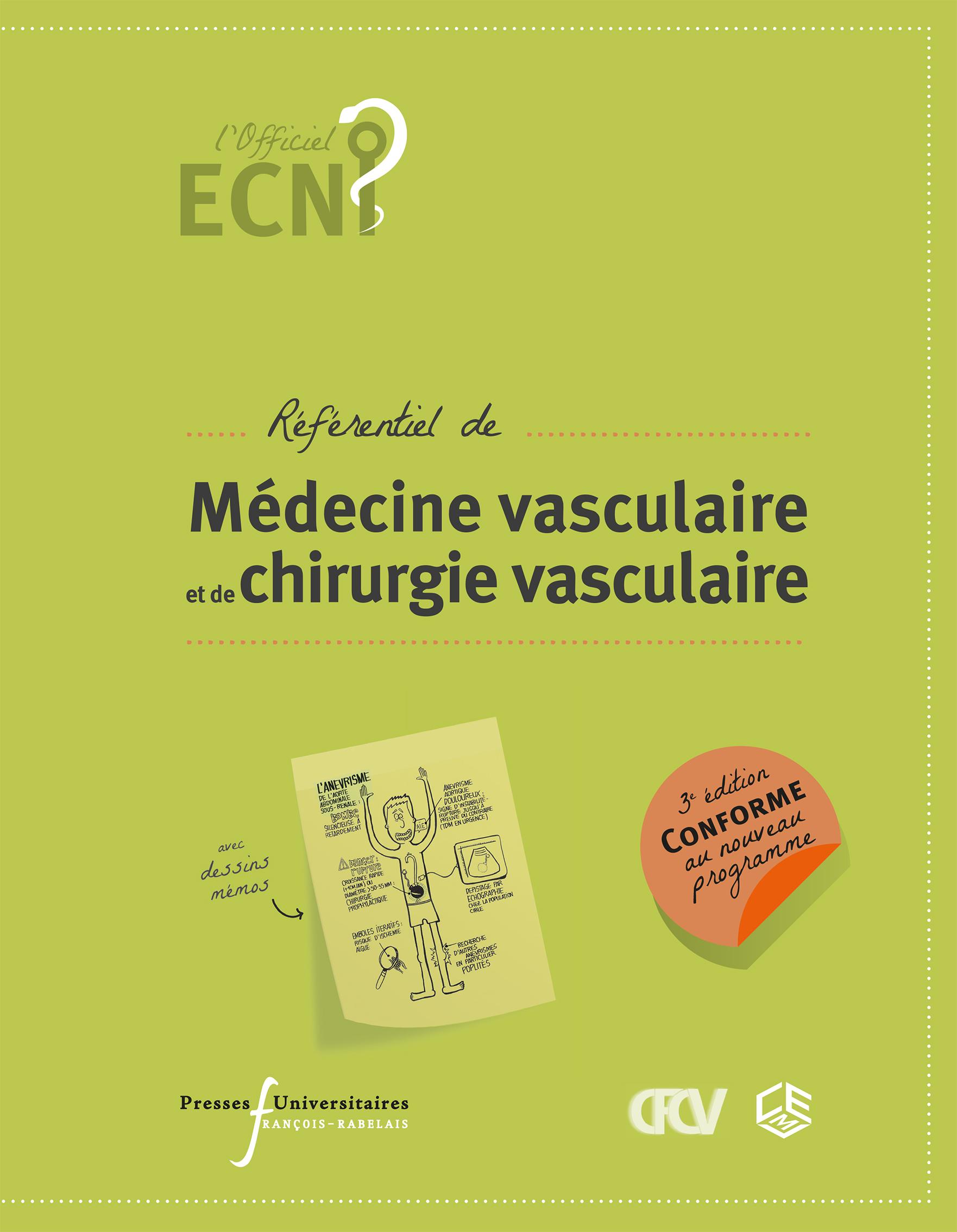 Ecn référentiel de médecine vasculaire et de chirurgie vasculaire (3e edition)